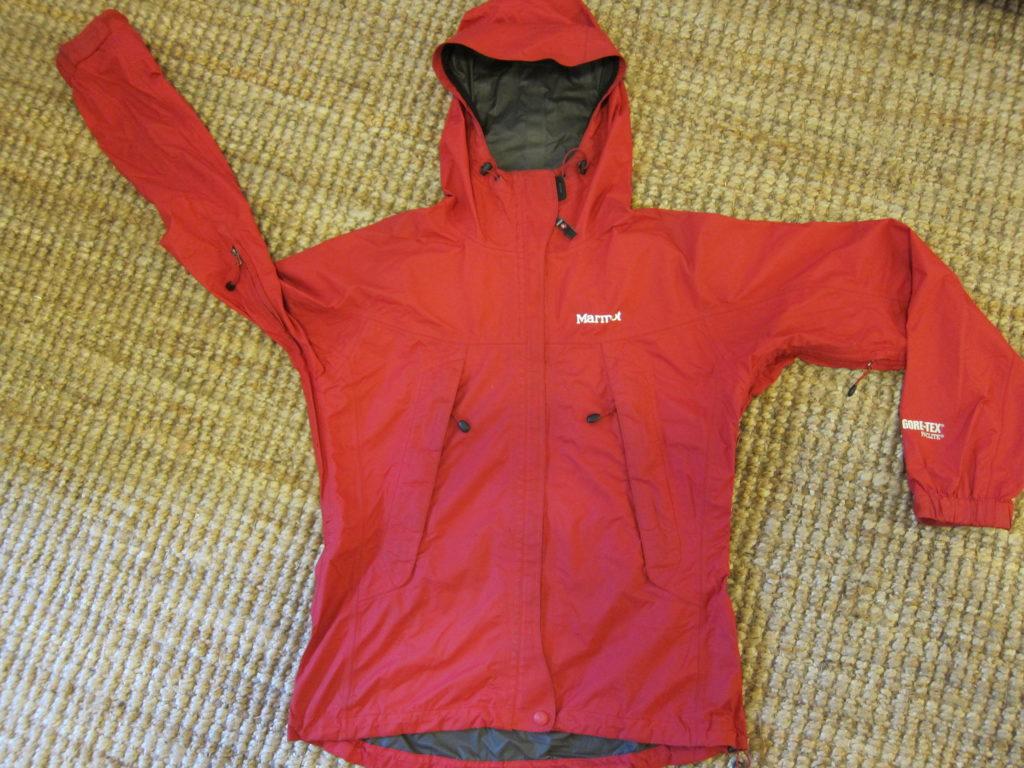 "Marmot GoreTex Paclite- מעיל גשם נושם. עלות השכרה: 100 ש""ח לשבועיים"