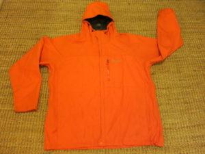 "Marmot Paclite Shell- מעיל גשם נושם. עלות השכרה: 100 ש""ח לשבועיים"