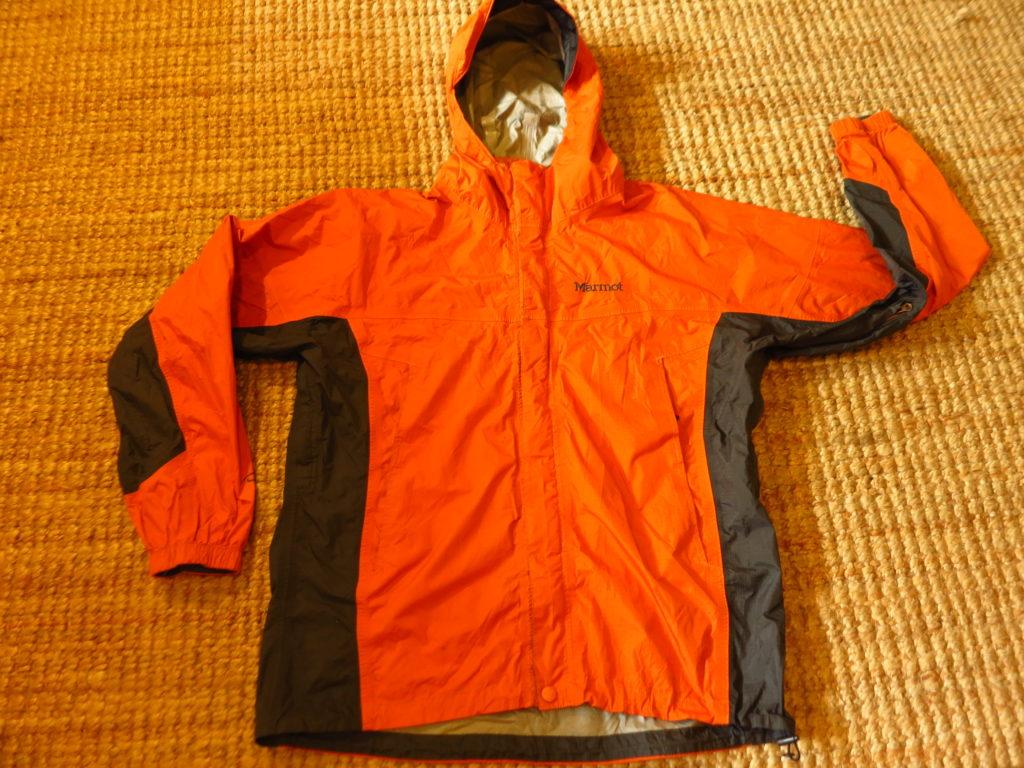"""Marmot PreCip- מעיל גשם נושם. עלות השכרה: 100 ש""""ח לשבועיים"""