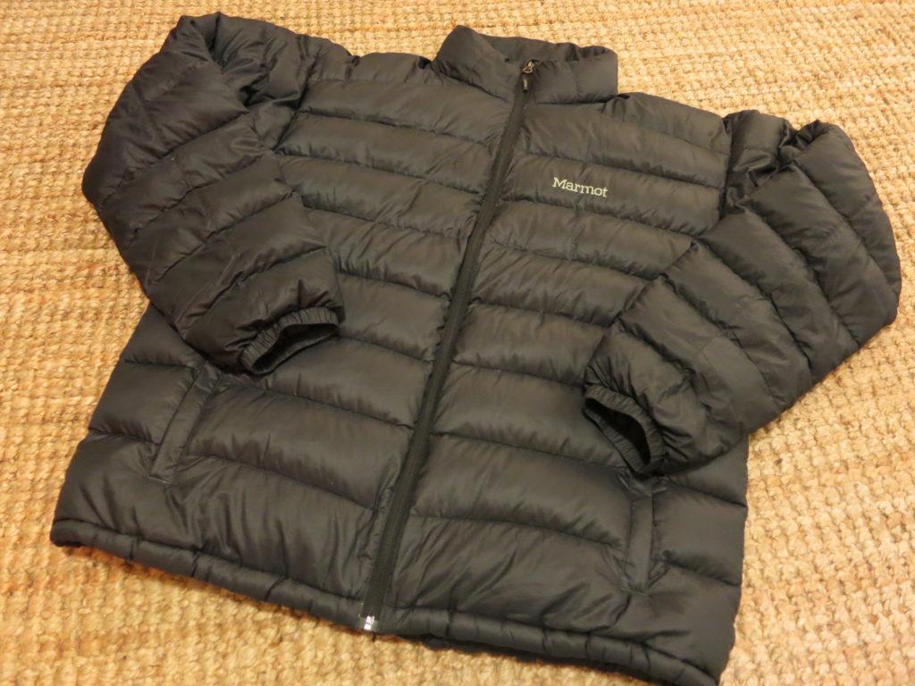 "Marmot Zeus- מעיל במילוי פוך (800). עלות השכרה: 130 ש""ח לשבועיים"