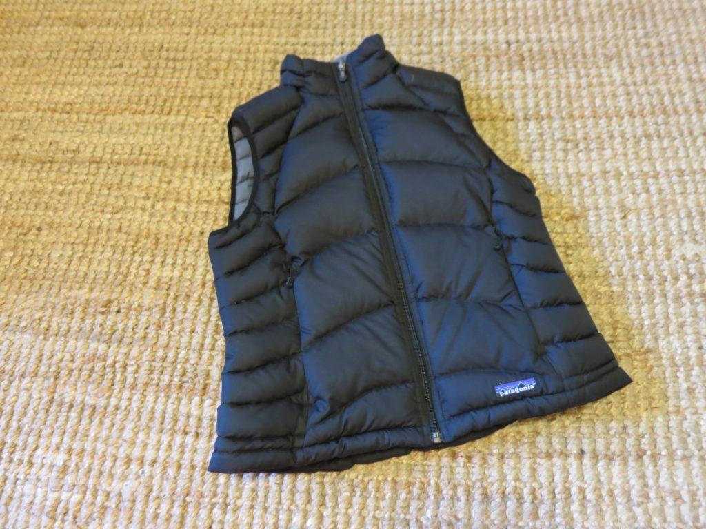 "Patagonia Down Vest- ווסט במילוי פוך. עלות השכרה: 130 ש""ח לשבועיים"