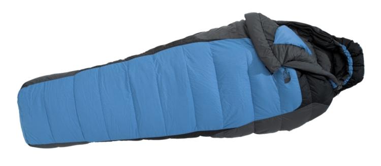 Blue Kazoo שק שינה במילוי פוך אווזים (600) לטמפ' של עד (-9) נוחות.