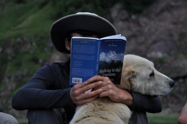 ספר מומלץ למטיילים בגאורגיה והקווקז -Walking in the Caucasus